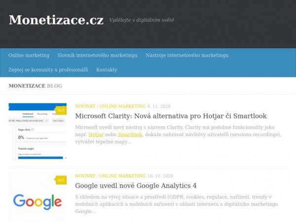 monetizace.cz