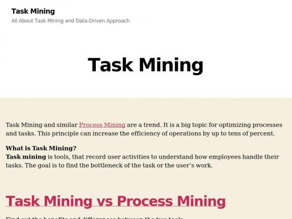 taskmining.eu
